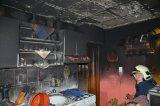 Požár domu Stochov - Slovanka