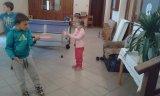 Kroužek stolního tenisu - první trénink