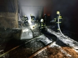 Požár ve firmě Rumpold Kamenné Žehrovice