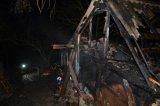 Požár chaty Stochov
