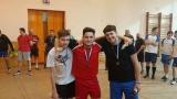 Turnaj v nohejbalu trojic - výsledky